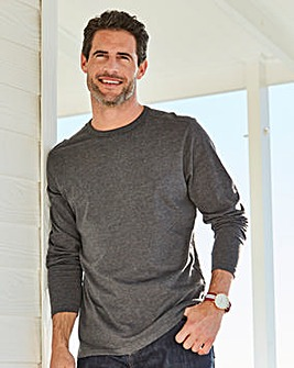 Capsule Charcoal Long Sleeve T-shirt R