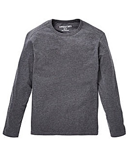 Capsule Charcoal Long Sleeve T-shirt R