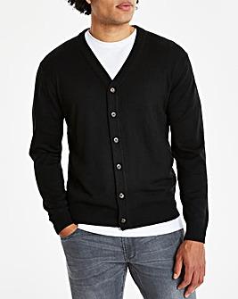 Black Button Cardigan