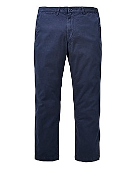 Capsule Navy Stretch Chinos 31in