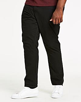 Black Stretch Chinos 31in