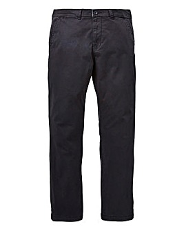 Capsule Black Stretch Chinos 33in