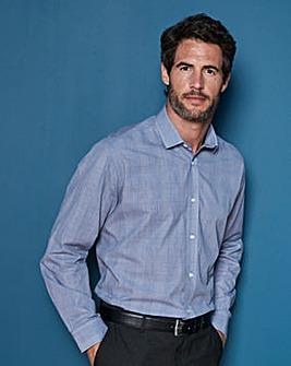 WILLIAMS & BROWN LONDON Long Sleeve Check Shirt Regular