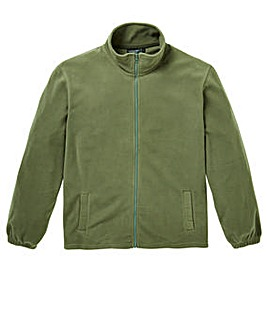 Capsule Khaki Full Zip Fleece R