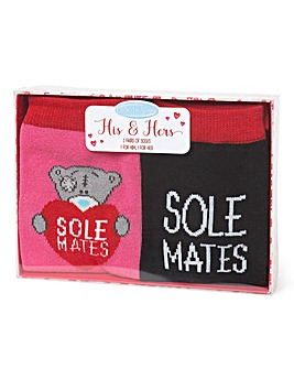 Me to You Sole Mates Socks Gift Set