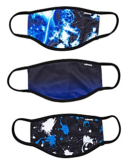 Hype Splat Galaxy 3 Pack Face Coverings