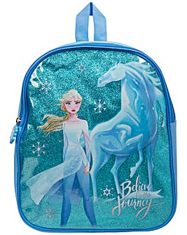 Disney Frozen 2 Glitter Backpack - Elsa