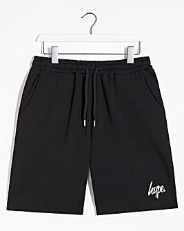 Hype Black Script Shorts