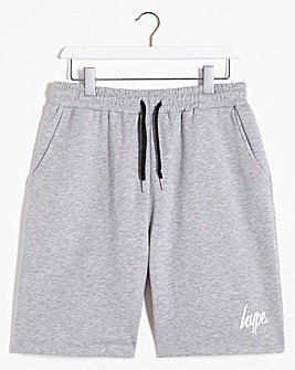 Hype Grey Marl Script Shorts