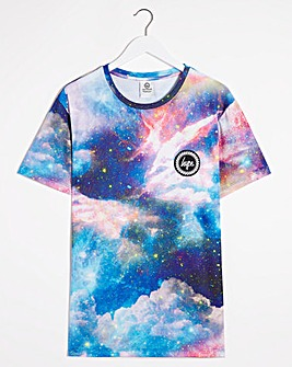 Hype Sunset Space T-Shirt Long