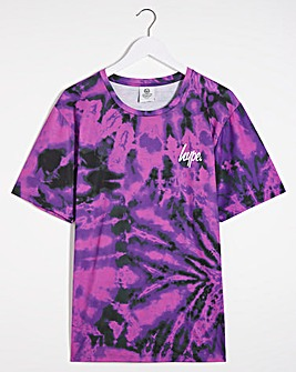 Hype Tie Dye Spiral T-Shirt Long