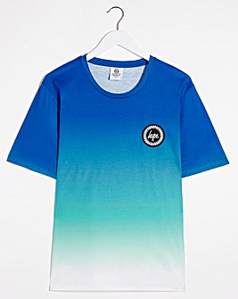 Hype Blue Summer Fade T-Shirt Long
