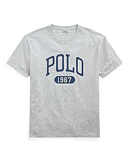 Polo Ralph Lauren Grey Short Sleeve Crew Neck Logo T-Shirt