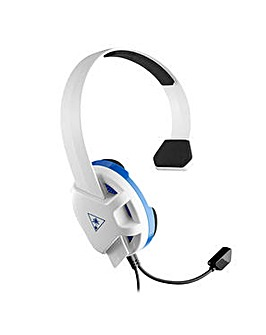 Turtle Beach Recon Chat White Headset