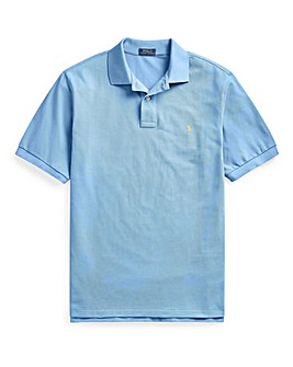 Polo Ralph Lauren Blue Classic Short Sleeve Iconic Polo