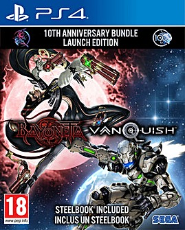 Bayonetta and Vanquish 2 Game Bundle PS4