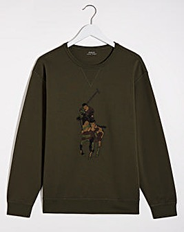 Polo Ralph Lauren Big Pony Camo Sweatshirt