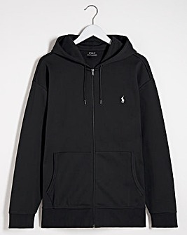 Polo Ralph Lauren Black Zip Through Hoodie
