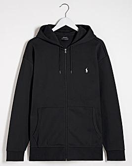 Polo Ralph Lauren Black Zip Through Hoodie