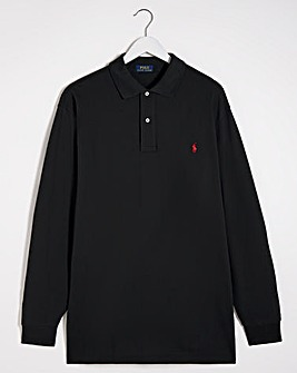 Polo Ralph Lauren Black Classic Long Sleeve Polo