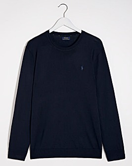 Polo Ralph Lauren Blue Long Sleeve Jumper