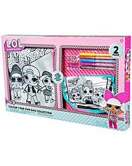 LOL Surprise Dolls Colour Your Own Bag