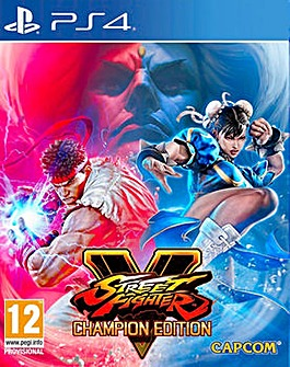 Street Fighter V Champion Edition PS4