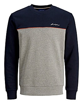 Jack & Jones Pipe Sweat Crew