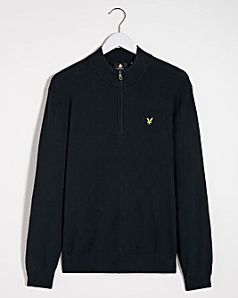 Lyle & Scott Moss stitch 1/4 Zip