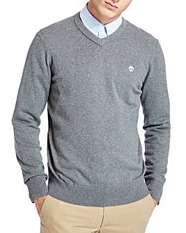 Timberland Williams River V Neck Jumper