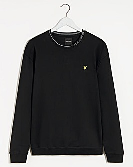 Lyle & Scott Branded Ringer Sweatshirt