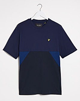 Lyle & Scott Trio Geo Panel T-shirt