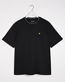Lyle & Scott Branded Ringer T-shirt