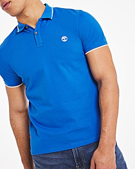 Timberland Pique Tipped Polo