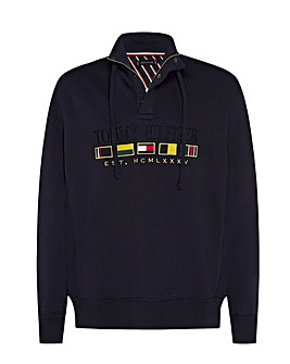 Tommy Hilfiger Icon Half Zip Sweatshirt