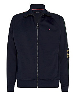 Tommy Hilfiger Monogram Zip Sweatshirt