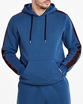 Hype Blue Sport Tape Hoody