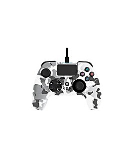 Mayhem PS4 Wired Controller White Camo