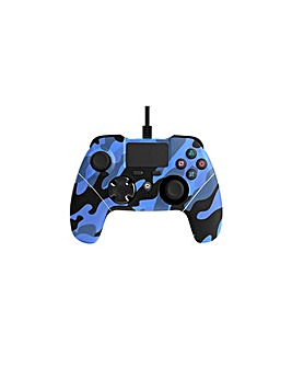 Mayhem PS4 Wired Controller Blue Camo