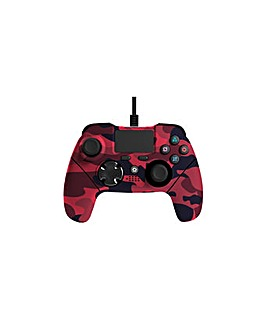 Mayhem MK1 PS4 Wired Controller Red Camo