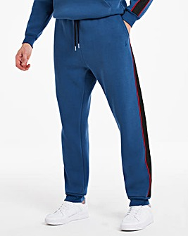 Hype Blue Sport Tape Jogger