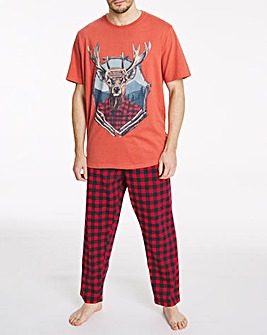Joe Browns Stag Pyjama Set