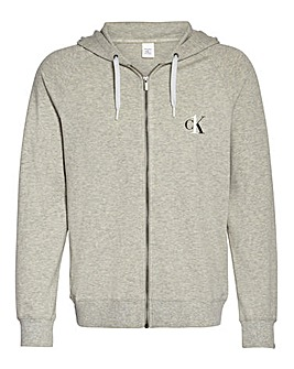 Calvin Klein Zip Through Lounge Hoodie