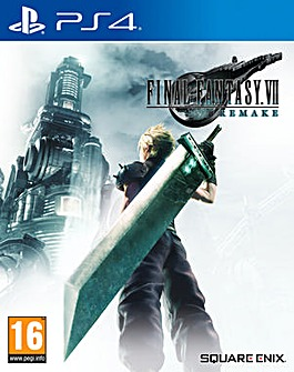 Final Fantasy 7 VII Remake PS4