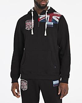 Joe Browns Union Jack 1/4 Zip Sweatshirt