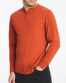 Joe Browns Long Sleeve Henley T-Shirt