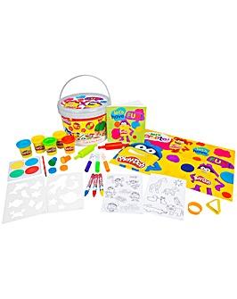 Play Doh Craft & Dough Bucket