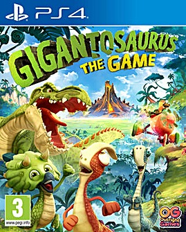 Gigantosaurus The Game PS4