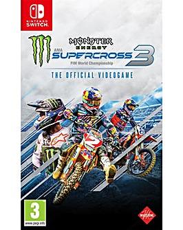 Monster Energy Supercross 3 Switch
