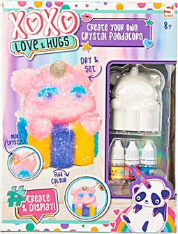 Create Your Own Crystal Pandacorn - Love & Hugs - Sambro